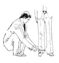 西裤制作工艺:量身方法与注意事项